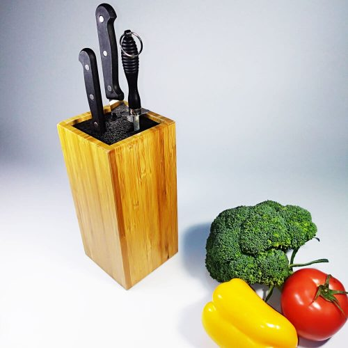 slotless knife block