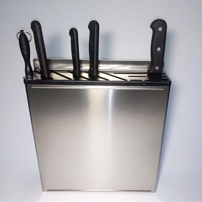 steel knife rack