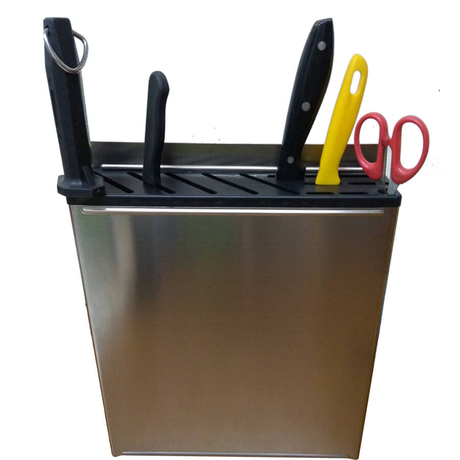 stainless steel knife rack
